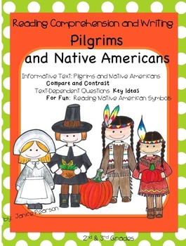 Pilgrims and Native Americans  Reading and Writing 2nd Grade