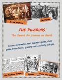 Pilgrims and Plymouth Colony mini-unit, including text