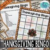 Thanksgiving Bingo (Print and Digital)