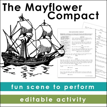 The Mayflower Compact: A Pilgrim Scene