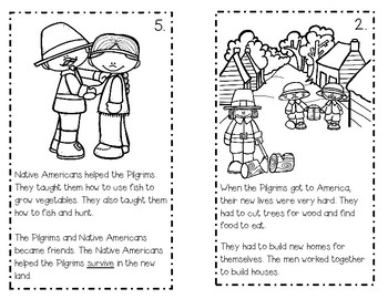 Pilgrims of Plymouth Activity Pack