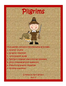 Pilgrims of Plymouth Pack