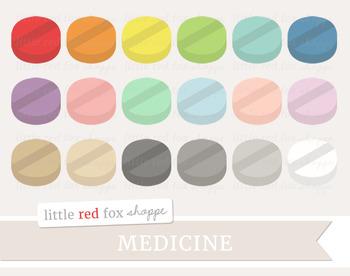 Pill Clipart; Medical, Medicine, Doctor, Nurse