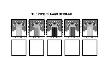 Pillars of Islam Graphic Organizer