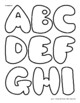 Pillow Alphabet—with Ideas for Use! Funky and Fun!