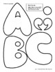 Pillow Alphabet—with Clip Art and Ideas for Use—Funky and Fun!