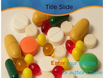 Pills PPT Template, Download Pills PowerPoint Templates