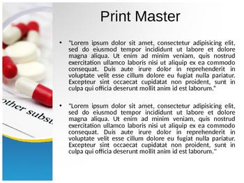 Pills PowerPoint Template