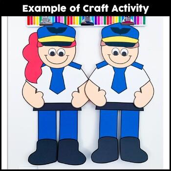 Community Helper Craft {Pilot}