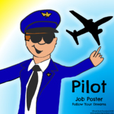 Pilot Job Poster - Discover Your Passions