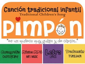 """""""Pimpon"""" MP3 & lyrics Canción Tradicional Mexicana Song Spanish Pimpón"""