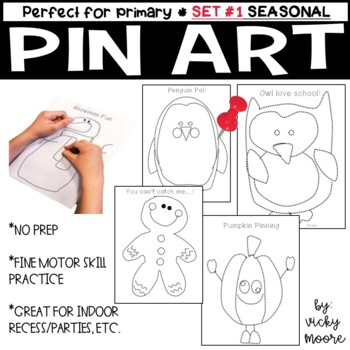 Pin Art { perfect for Fun Fridays or Class/Birthday Parties }