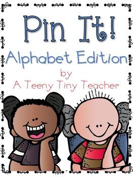 Pin It! {Alphabet Edition}