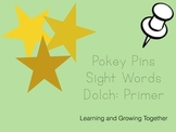 Pokey Pins: Sight Words (Primer)