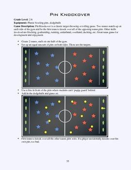 PE Game Sheet: Pin Knockover