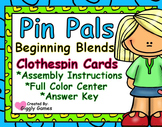 Pin Pals Beginning Blends Clothespin Cards