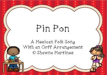 """""""Pin Pon"""" a Mexican Folk Song"""