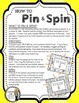 Comparing Fractions (to One Half) - A Pin & Spin Activity