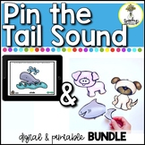 Pin The Tail Sound BUNDLE - Final Consonant Deletion Activ