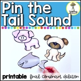 Pin The Tail Sound : Speech Therapy Activity : Final Conso