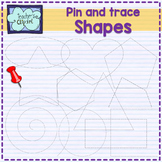 Pin and Trace Shapes Clip art