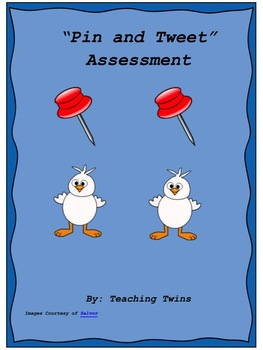 """Pin and Tweet"" Assessment"