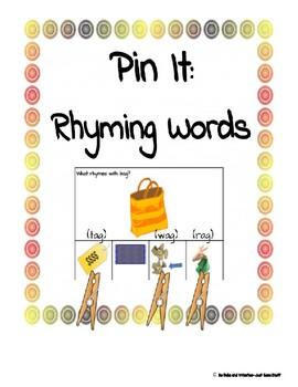 Pin it- Rhyming Words