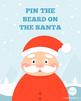 Pin the Beard on the Santa