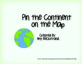 Pin the Continent on the Map