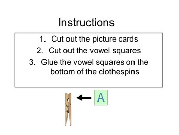 Pin the Correct Vowel