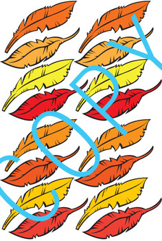 Pin the Feathers on the Turkey Game, Poster and Fun Activity (Thanksgiving)