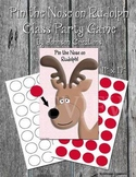 Pin the Nose on Rudolph Class Party Game