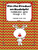 Pin the Product - Rudolph Multiplication Game!