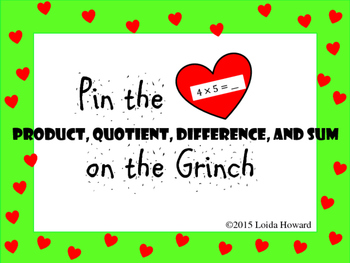 """Pin the """"Product"""" on the Grinch"""