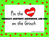 "Pin the ""Product"" on the Grinch"