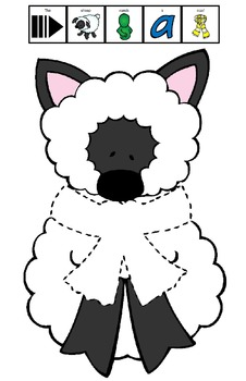 Symple Readers Week 15 Pin the Scarf on the Sheep