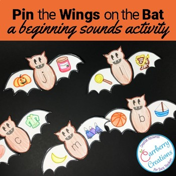 Beginning Sounds Activity: Halloween Theme