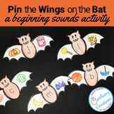 Halloween Centers Activity for Beginning Sounds