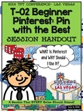 Pin with the Best- TpT Conference 2014 Session Handout