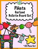 Piñata Garland Bulletin Board 20 Piece Set for Classroom D