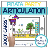 Piñata Party Articulation Boom Cards™️ Speech Therapy