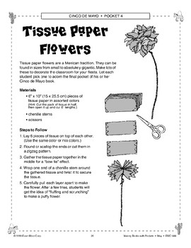 Pinata and Tissue Paper Flowers