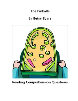 The Pinballs Reading Comprehension Questions