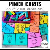 Pinch Cards! Check for Understanding Assessments