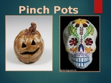 Pinch Pot Pumpkins & Skulls