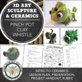 Pinch Pot Whistles: Introduction to Clay and Hand Building with Lizella Clay
