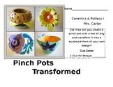 Pinch Pots Transformed Student Handout