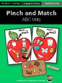 Pinch and Match ABC Mats
