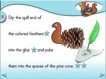 Pine Cone Turkeys - Animated Step-by-Step Crafts