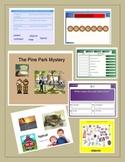 Pine Park Mystery~Harcourt~Smartboard lesson
